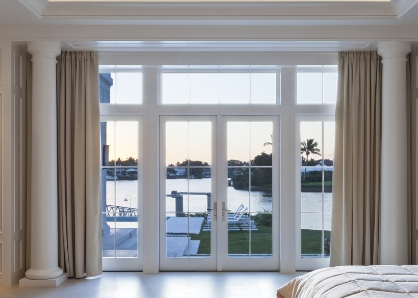 Excellent French Doors With Transom Windows Engler Window Pictures