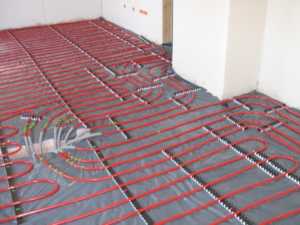 Excellent Heated Bathroom Floors Underfloor Heating Pipes