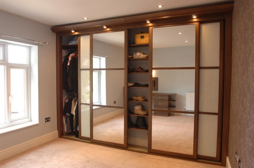 Fantastic Closet Sliding French Doors Wooden Ideas Photos