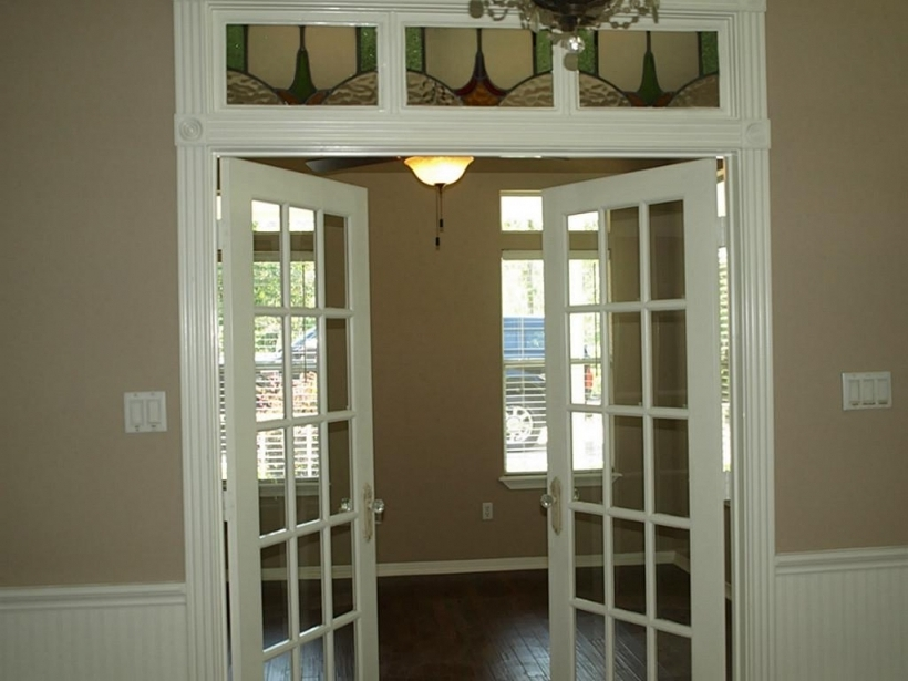 Fascinating French Doors With Transom Decorating Inspiration Pictures