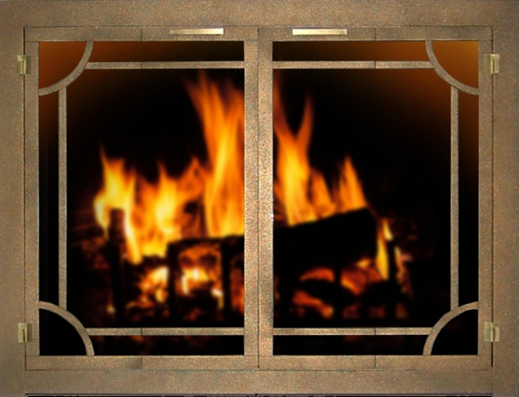 stylish stoll fireplace doors custom glass fireplace doors heating