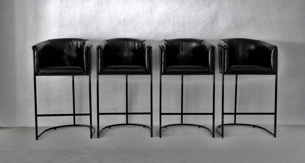Inspiring High End Bar Stools Black Color Pictures