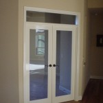 Inspiring French Doors with Transom Interior Design