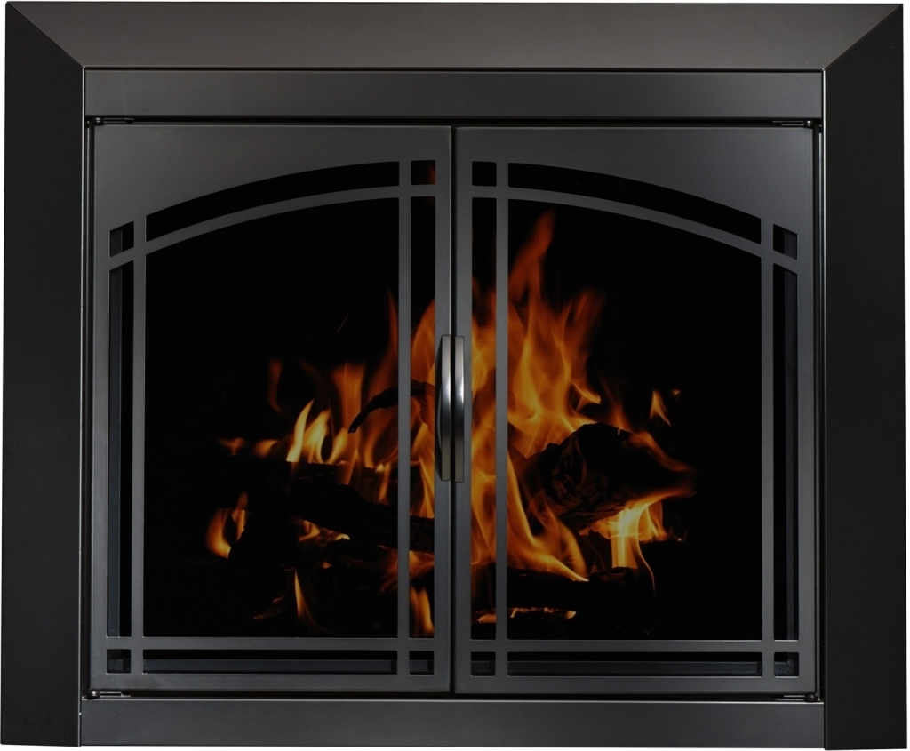 Stylish Stoll Fireplace Doors Custom Glass Fireplace Doors Heating ...