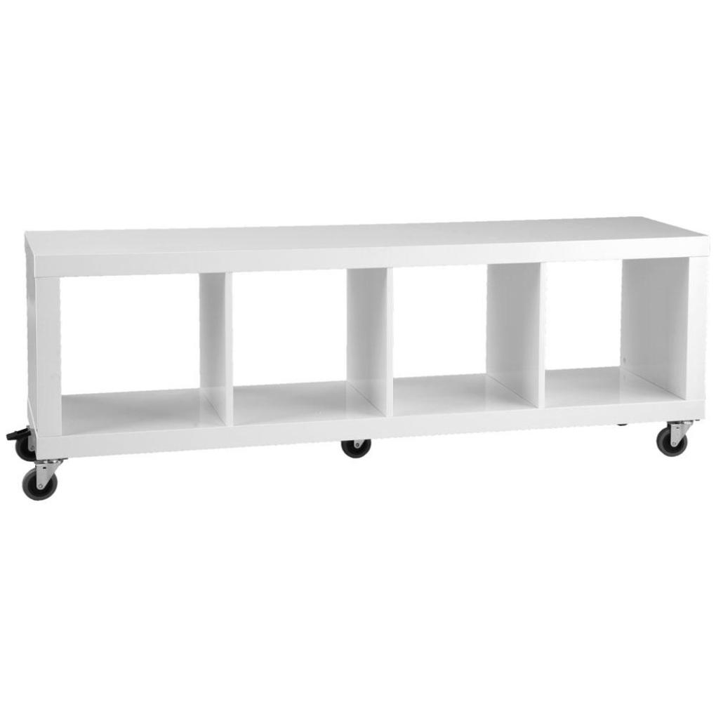Stylish White Lacquer Console Table With Samba Storage Unit White Lacquer Office Storage Cabinet Pictures