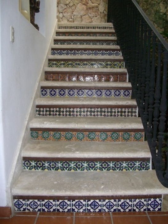 Tile On Stair Risers Top Design Images
