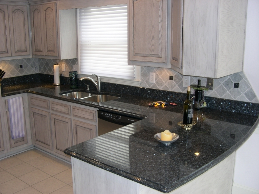 Wonderful Blue Pearl Granite Countertop Custom Ideas Pic