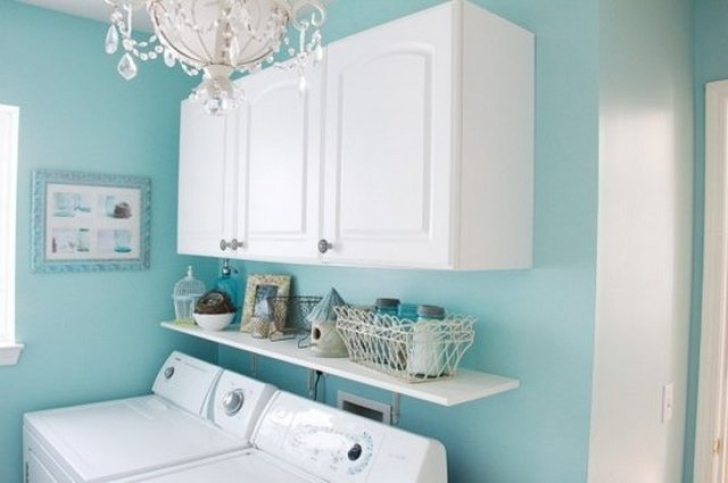 Tiffany blue paint color make the room more fresh home for Paint color match