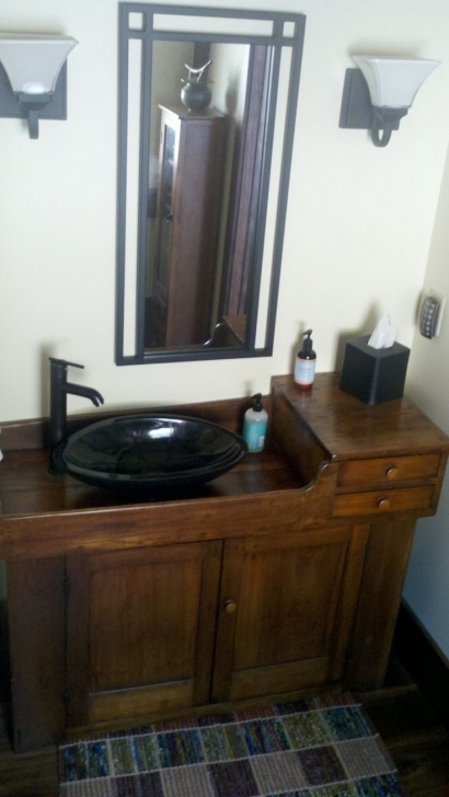 Antique Dry Sink Vanity With Dry Sink Changing Table Woodworking Projects Pictures
