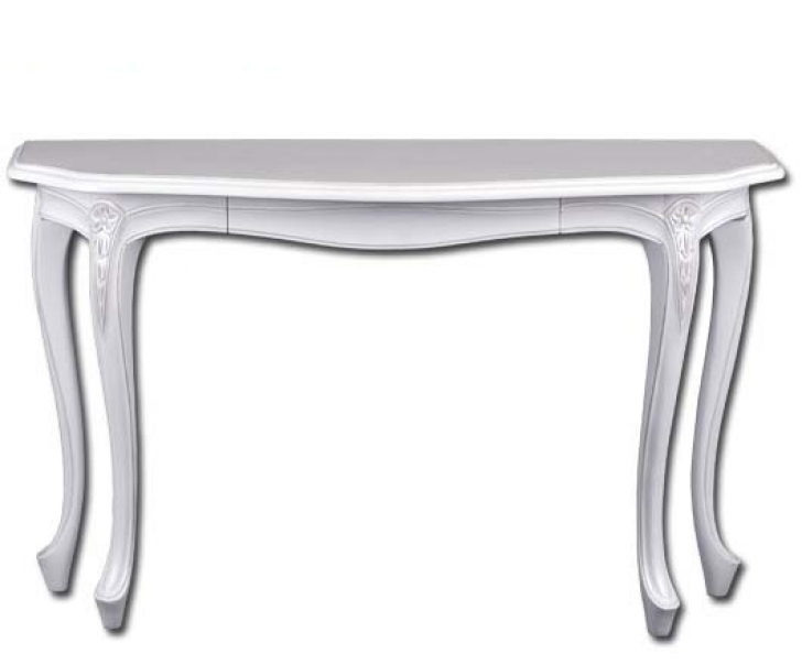 Awesome Console Table French Style With Regard To French White Louis Style Hall Photo