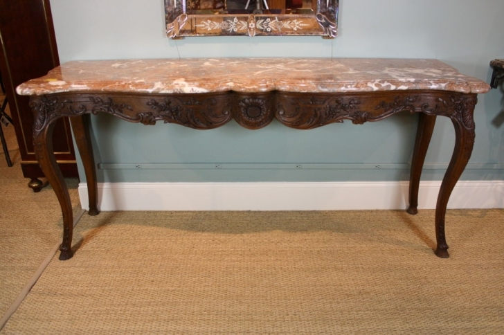 Beautiful Console Table French Style With Regard To Regence Ideas Photo