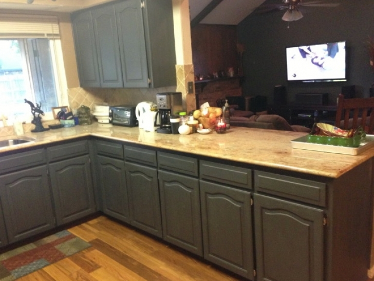 Chalk Paint Kitchen Cabinets Inside Refinishing Kitchen Cabinets Pictures