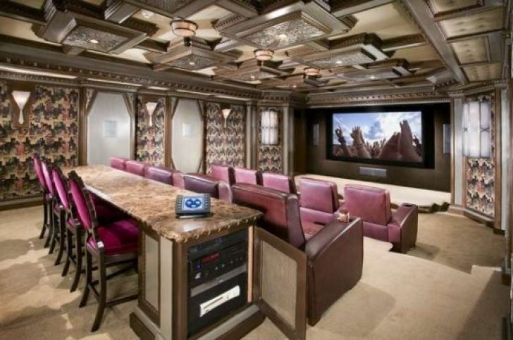 Cozy Home Theater Seating Design Ideas Inside Classic Decor Ideas