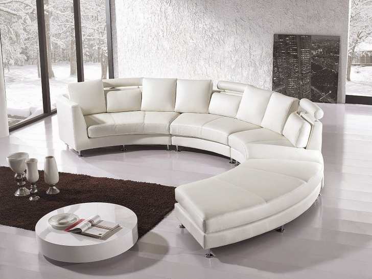 Curved Sectional Sofa Living Room Furniture With Cozy Mid Century Modern Sofa And White Leather Sectional Sofa Fabric Pic