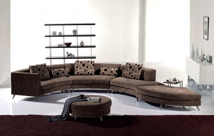 Curved Sectional Sofa Living Room With Regard To Awesome Brown Velvet Couches And Chaise Also Best Furniture Long Sectional Sofa Design Photos