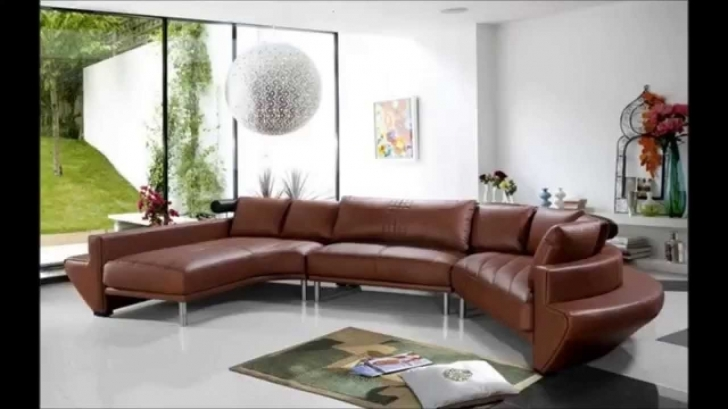 Curved Sectional Sofa Living Room With Regard To Awesome Curved Sectional Couches Make Impact Living Space Image