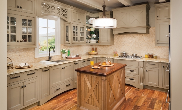 Custom Kitchen Cabinets Regarding Gorgeous Wellborn Home Pic