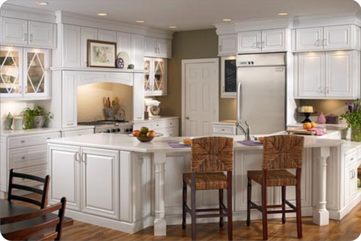 Custom Kitchen Cabinets Within Fantastic Diy Custom Kitchen Cabinet Installation Images