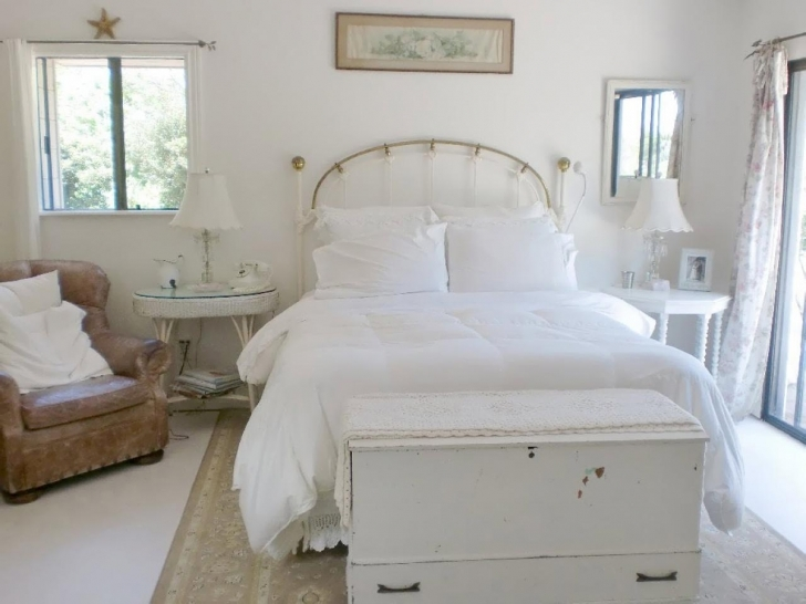 Excellent Shabby Chic Bedroom Ideas Inside Original Pam Balla Shabby Chic White Bedroom Pictures