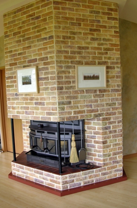 Faux Painting Brick Fireplaces Home Ideas Photo