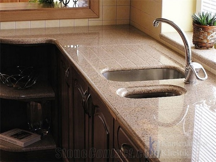 Golden Crystal Granite Countertops China 7338