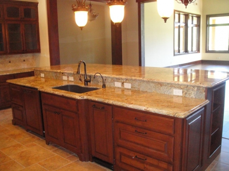 Golden Crystal Granite Countertops Design Ideas 6040