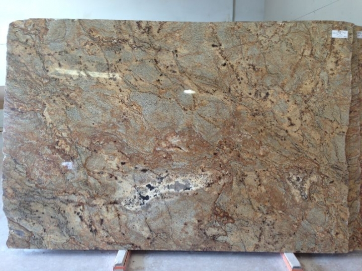 Golden Crystal Granite Countertops Material 7175