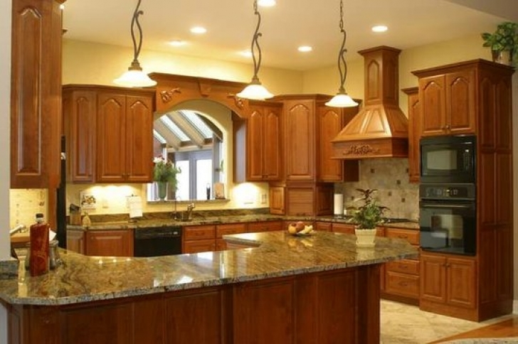 Golden Crystal Granite Countertops Slab Kitchen 9224