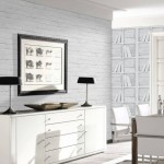 White Brick Wallpaper Bedroom Ideas