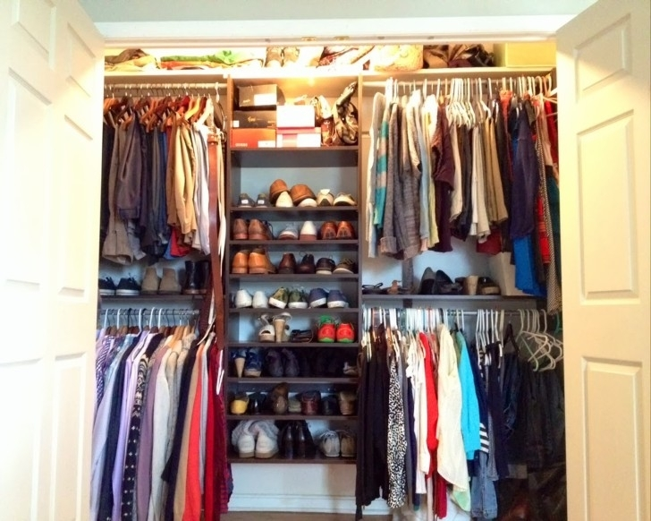 Wire Shelving Units for Closets with Closet Andshoe Storage Rack Also Lighting Image