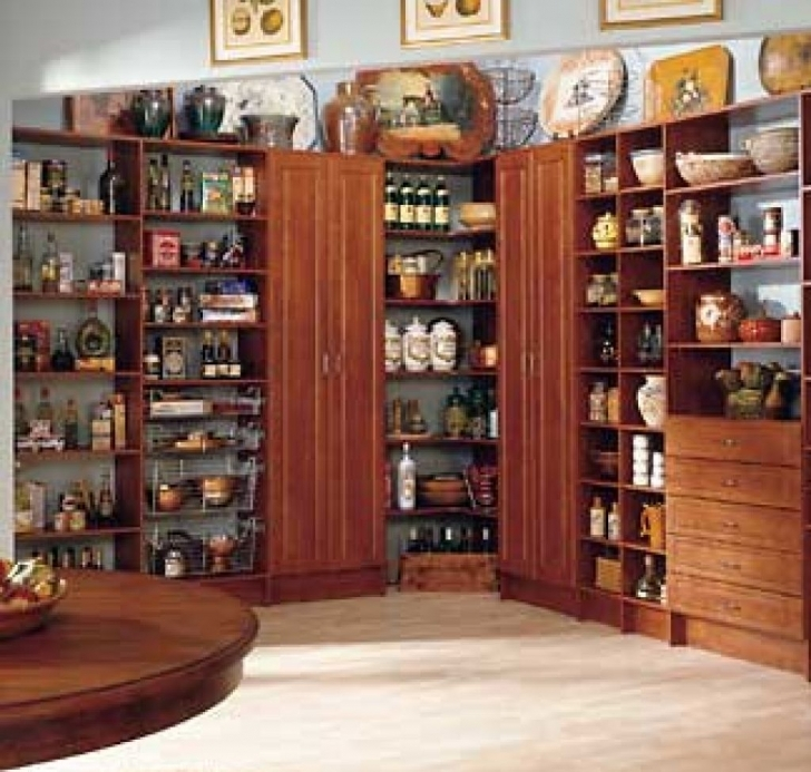 Kitchen Pantry Cabinet Ideas With Regard To Kitchen Pantry Ideas Design Pics