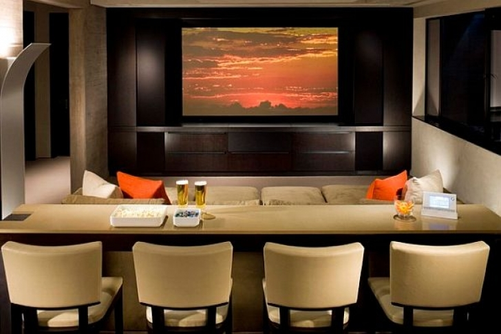 Marvelous Home Theater Seating Ideas Inside Comfortable Design Ideas Pictures