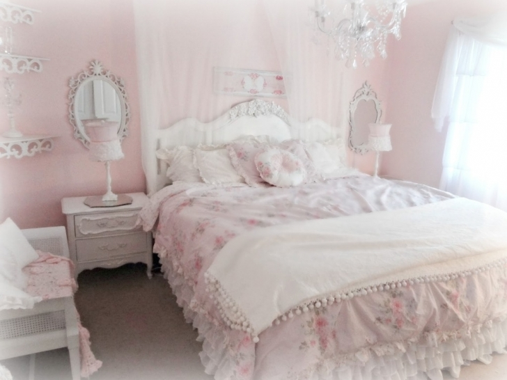 Marvelous Shabby Chic Bedroom Ideas With Regard To Deco Shaby Chic Bedroom Pic