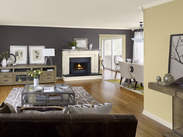 Outstanding Gray Paint Color Schemes Living Room Inside Combine Yellow Cream Pictures