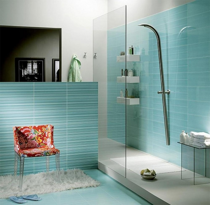 Stunning Small Bathroom Remodeling Subway Tile Within Light Small Blue Bathroom Tile Ideas Pictures