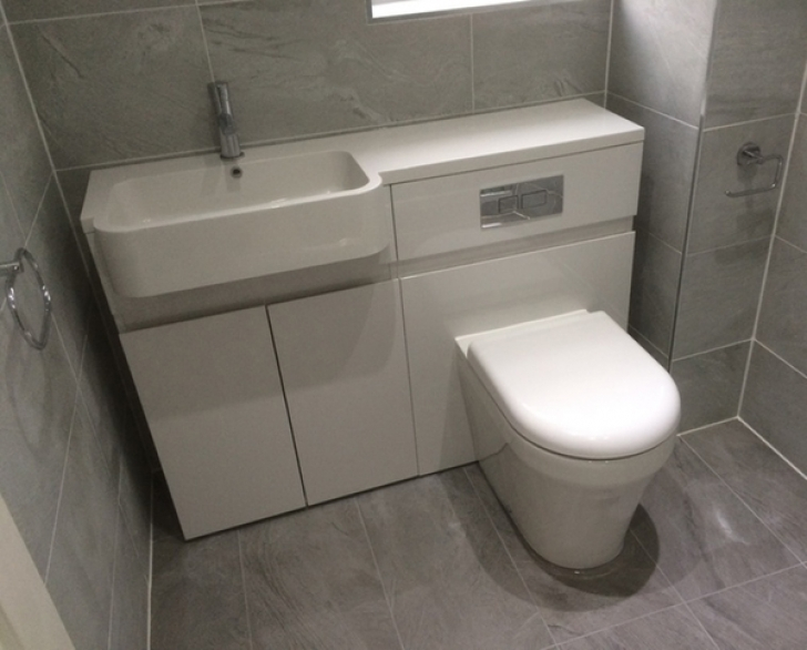 Toilet Sink Combo With Bathroom Installation Combined Basin Photo