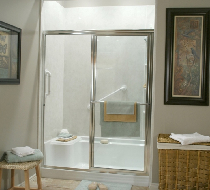 Walk In Tubs And Showers Regarding Perfect Bathroom Design Image