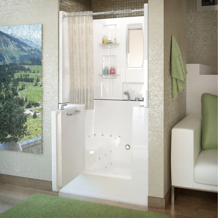 Walk In Tubs And Showers Throughout Therapeutic Tubs Mesa 42 X 31 Air Jetted Image
