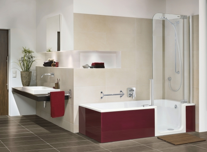 Walk In Tubs And Showers With Regard To Convert Walk In Shower To Bathtub & Whirlpool Tubs Images