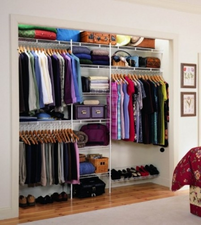 Wire Shelving Units for Closets With Master Bedroom Ideas Image