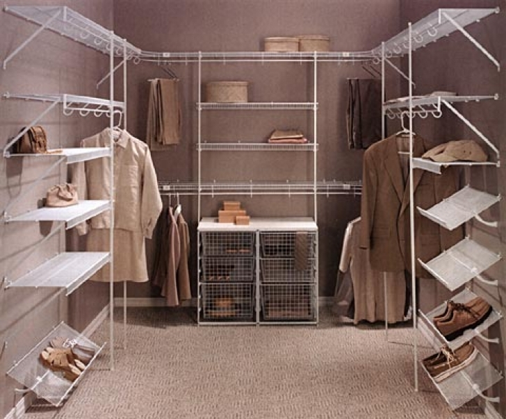 Wire Shelving Units for Closets With Regard To Walk In Closet Ideas Images