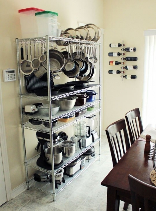 Wire Shelving Units for Closets With Smart Effective Storage Images