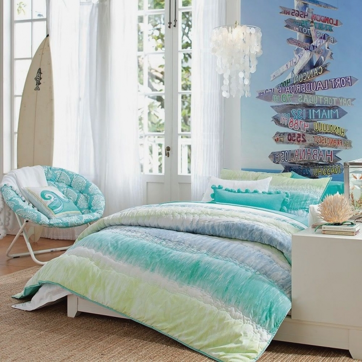 Wonderful Beach Themed Bedroom Decor In Paris Girls Themed Bedroom View Images