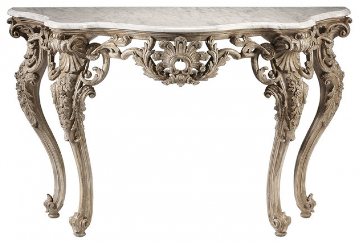 Wonderful Console Table French Style With Regard To Traditional Console Tables Beautiful Wooden Hall Way Furniture Pics