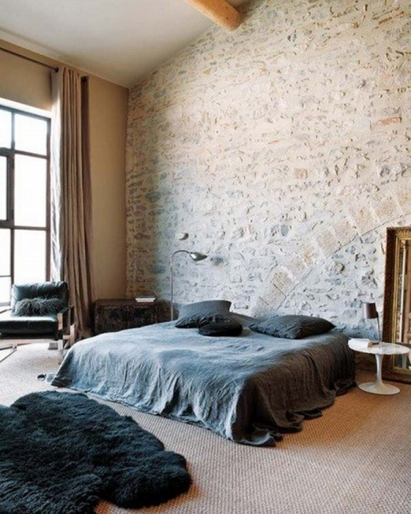 Wonderful White Brick Wallpaper Bedroom In Collor Pallet For Fresh Bedroom Photos
