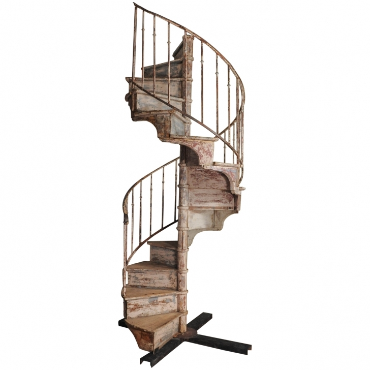 Wooden Spiral Staircase In Awesome Stair Fetching Vintage Iron Handrail Handsome Los Angeles Images043