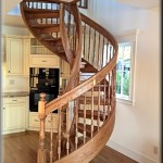 Beautiful Wooden Spiral Staircase Design