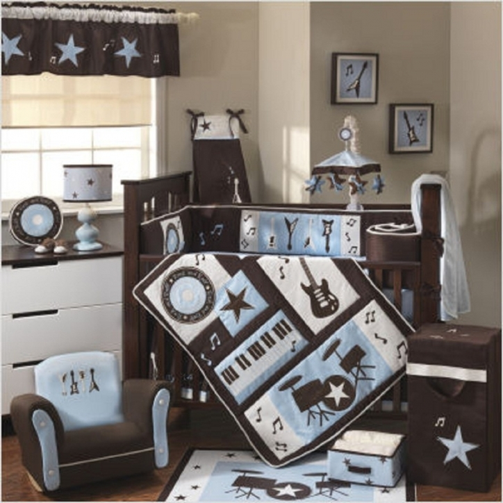 Baby Bedding Sets For Boys Amazing Modern Baby Crib Bedding Set Plus Stylish Music Theme