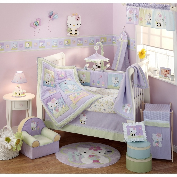 Baby Crib Bedding Sets Purple Ideas Preety Decoration Picture