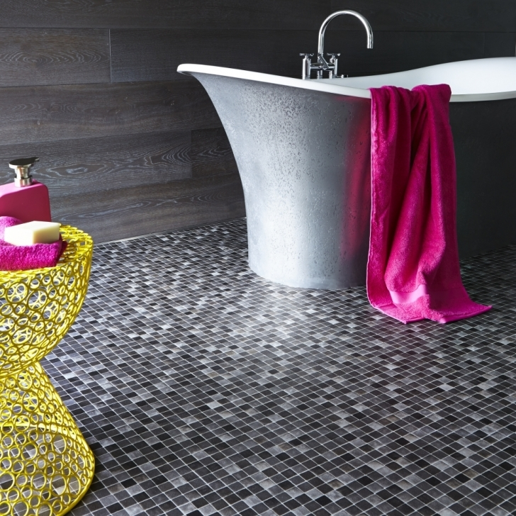 Bathroom Flooring Ideas Vinyl|Vinyl Bathroom Flooring Ideas} Regarding Fascinating Mosaic Style 409
